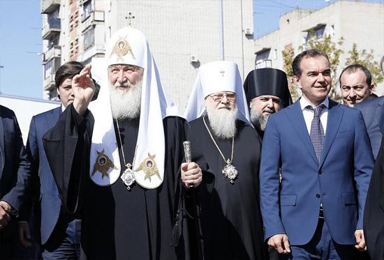 Патриарх посетил ейск